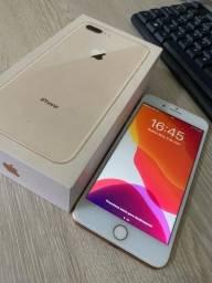 iphone 8plus gold 64gb ???LEIA???