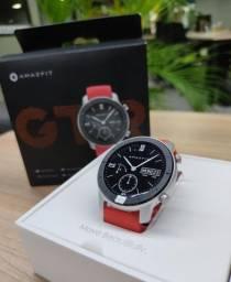 Relógio inteligente Amazfit GTR 42mm GPS esportivo Lacrado
