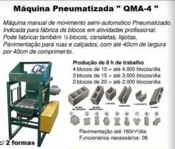 Máquina Pneumática profissional QMA-4. Máquina nova, nunca foi usada.
