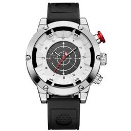 Relógio Masculino Weide Anadigi WH6301 - Preto e Branco