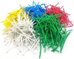 Arame Encapado Revestido com Plástico - Fecho Plástico 8 cm