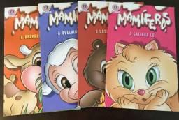 Coleção de 4 livros Mamiferos