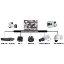Instalação de câmeras fechaduras eletrônica alarme interfone cerca elétrica