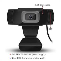 Webcam 1080p 720 HD aceito cartão