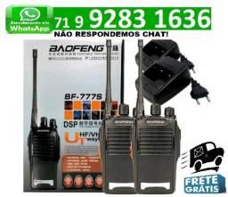 Rádio Comunicador Walk Talk Baofeng 777s Kit 1 Par