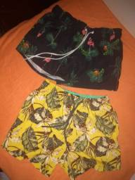 Shorts R$20,00 cada