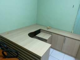 Mesa em L + Porta arquivos