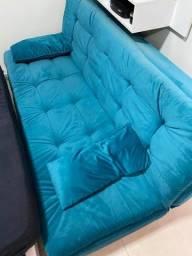 Vendo Sofá Cama com Chaise