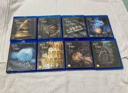 Blu Ray Coleção: Harry Potter Todos! Originais