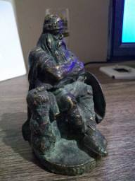 Antiga estatueta em bronze nordica, Viking!