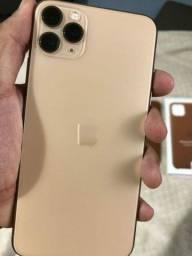 iPhone 11 Pro Max Dourado 256 Gb