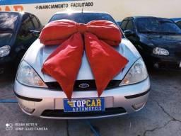 Focus Prata Hacth 1.6 Mec Prata Metálico (S/ Entrada R$: 699,90) Top Car Aprova Fácil