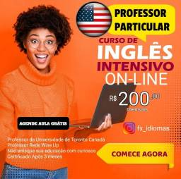 Professor Particular de Inglês ON-LINE