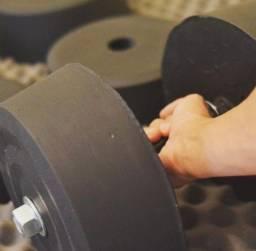 Halteres para exercícios com carga