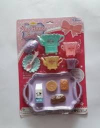 Brinquedo faz de conta jogo de chá infantil