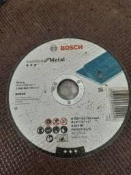 Disco Bosch para metal - 10 unidades