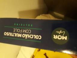 Vendo colchão inflável cm inflador embutido  de solteiro   lacrado na caixa  !