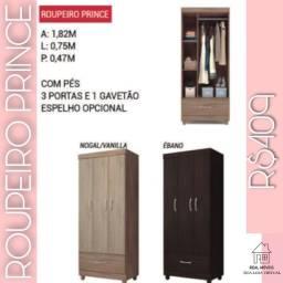 Guarda roupa de solteiro Prince