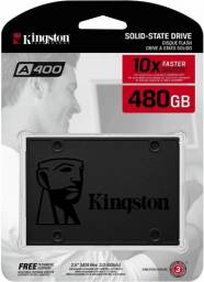 Ssd 480gb Kingston A400 Sata 3 Leitura para Pc ou Notebook- NOVO