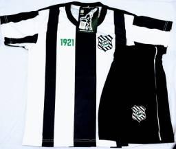 Kit infantil licenciado camisa e calção Figueirense