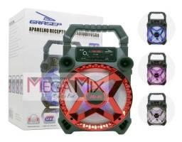 Caixa de som Bluetooth Grasep 20w RMS Modelo D-S7