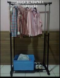 Arara exclusiva para closet em quartos ajustável