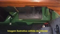 Caixa Som Madeira Painel Rádio Acessório Época Variant Tl Zé