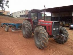 Título do anúncio: Trator MF 292 Ano 2001 com Implemento Grade de arado baldan
