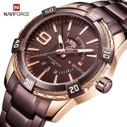 Título do anúncio: Naviforce Mens Relógios Top Marca De Luxo Analógico Relógio De Quartzo Homens Moda