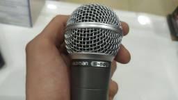 Microfone com fio para igreja S-580 COM FIO waldman
