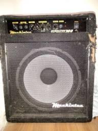 Cubo amplificado com alto falante de 15 polegadas