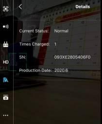 Bateria para drone Mavic Pro/Platinum - nova , nunca usada