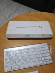 Teclado e Mouse Sem Fio Apple Original