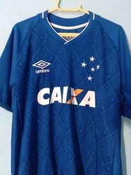 Camisa Umbro Cruzeiro I 2017 (Por favor, leiam a descrição!)