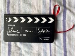 Caderno Claquete Filme ou Série