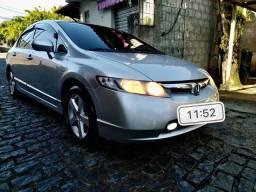 Honda civic LXS 2008 automático com GNV