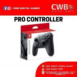 Pro Controller Nintendo Switch. Novo lacrado e com garantia. Loja Física