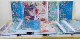 Lote de 104 cadernos Novos 10 Matérias e 1 Matéria com Nota Fiscal