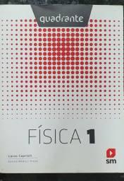 Física 1 - Quadrante - Editora SM<br>Lucas Caprioli <br>Livro em ótimo estado de conservação
