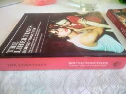Livro importado da banda Libertines capa dura