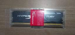 Memória 16 GB Hyperx Fury DDR 4 (Garantia Vitalícia de Fábrica)