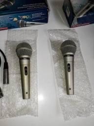 Kit 2 Microfones Carol MUD-515