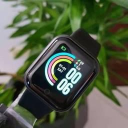 Relógio Smartwatch Y68 Inteligente Bluetooth Importado Pronta entrega!