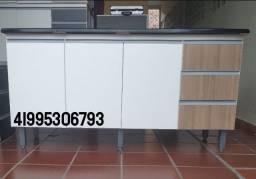Balcão de pia  com cuba novo 1.60m