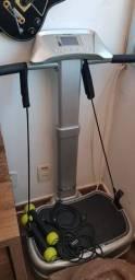 Plataforma vibratória power fitness Polishop