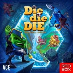 Die Die Die! Jogo de Tabuleiro - Board Game