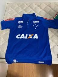 Camisa do Cruzeiro oficial usada em jogo