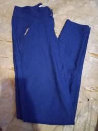 Calça elastano azul