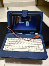 Capa teclado e tablet