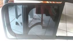 Vidros e moldura lateral kangoo